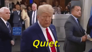 Never thought I would live to see the day when Trump was right about something...: Never thought I would live to see the day when Trump was right about something...