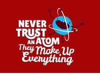 Never, Make, and They: NEVER  TRUST  ANATOM  They make Up