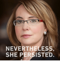 I Luv Gabby!: NEVERTHELESS,  SHE PERSISTED I Luv Gabby!