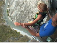 Nevis Bungy Jump - SCARED  Credit - https://www.youtube.com/channel/UCQcaLOniDpsV3JHxj_BH4Pw: Nevis Bungy Jump - SCARED  Credit - https://www.youtube.com/channel/UCQcaLOniDpsV3JHxj_BH4Pw