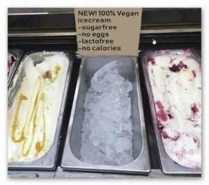 new 100% vegan icecream :) by zazracnedieta FOLLOW HERE 4 MORE MEMES.: NEW! 100% Vegan  icecream  -sugarfree  -no eggs  -lactofree  -no calories new 100% vegan icecream :) by zazracnedieta FOLLOW HERE 4 MORE MEMES.