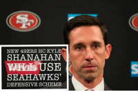 """New San Francisco 49ers coach Kyle Shanahan is considered by some to be an offensive mastermind. However, he spent his last two seasons working under a defensive specialist, Atlanta Falcons coach Dan Quinn. Quinn's previous job was defensive coordinator of the Seattle Seahawks, and Shanahan will be taking that experience to San Francisco. The 49ers will be running the Seahawks defensive scheme. """"Playing Seattle over the years and knowing how hard that system is to go against,"""" Shanahan said via KNBR's Murph and Mac show. """"It's not necessarily how hard it is, it's how sound it is. They make you work for everything. It's always an eight-man front. It's very tough to run the ball against. And they're very sound in their coverages. You can get some completions and things like that, but they make you work all the way down the field."""" GoHawks WeAre12: NEW 49ERS HC KYLE  SHANAHAN  USE  SEAHAWKS  DEFENSIVE SCHEME New San Francisco 49ers coach Kyle Shanahan is considered by some to be an offensive mastermind. However, he spent his last two seasons working under a defensive specialist, Atlanta Falcons coach Dan Quinn. Quinn's previous job was defensive coordinator of the Seattle Seahawks, and Shanahan will be taking that experience to San Francisco. The 49ers will be running the Seahawks defensive scheme. """"Playing Seattle over the years and knowing how hard that system is to go against,"""" Shanahan said via KNBR's Murph and Mac show. """"It's not necessarily how hard it is, it's how sound it is. They make you work for everything. It's always an eight-man front. It's very tough to run the ball against. And they're very sound in their coverages. You can get some completions and things like that, but they make you work all the way down the field."""" GoHawks WeAre12"""