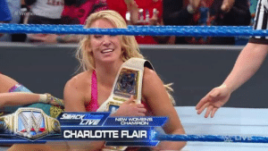 Dude wth???  #RE: NEW  CHARLOTTE FLAIR Dude wth???  #RE