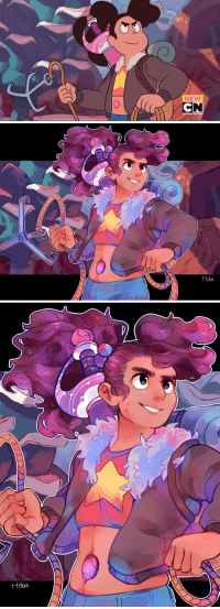 Beautiful, Cartoon Network, and Growing Up: NEW  CN  CARTOON NETWORK   ttoba ttoba:  Until then, we survive.Screencap redraw of the favorite thing from the new Steven Universe episodes, Stevonnie! Our child is growing up to be so beautiful and handsome, even their little stubble made me so happy. *wipes away tears*