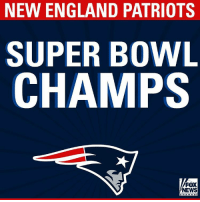 Congratulations to the New England @Patriots! They defeated the @atlantafalcons 34 - 28 to win SuperBowl LI in overtime! SB51: NEW ENGLAND PATRIOTS  SUPER BOWL  CHAMPS  FOX  NEWS Congratulations to the New England @Patriots! They defeated the @atlantafalcons 34 - 28 to win SuperBowl LI in overtime! SB51