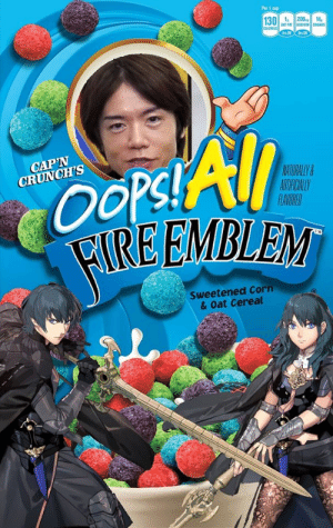 New, from Nintendo - Oops! All Fire Emblem!: New, from Nintendo - Oops! All Fire Emblem!