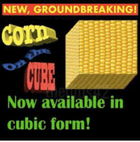 New, Now, and Cubic: NEW, GROUNDBREAKING!  Now available in  cubic form!