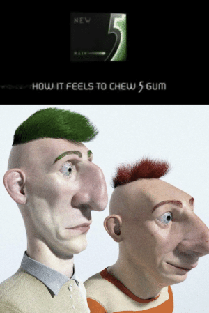 Stimulate your senses like Phineas and Ferb: NEW  HOW IT FEELSS TO CHEW 5 GUM Stimulate your senses like Phineas and Ferb