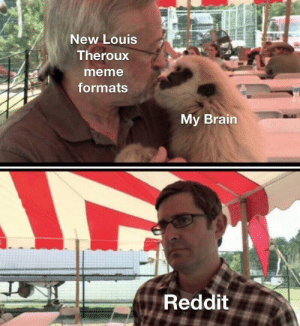 Louis Theroux documentaries are gold mines for meme formats ngl: New Louis  Theroux  meme  formats  My Brain  Reddit Louis Theroux documentaries are gold mines for meme formats ngl