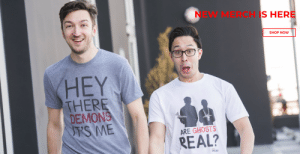 heythereghouligans:  !!!!: NEW MERCH IS HERE  SHOP NOow  HEY  THERE  DEMONS  S ME  ARE GHOSTS  REAL? heythereghouligans:  !!!!