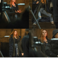 Memes, Infinity, and Elizabeth Olsen: ; [NEW] More photos of Elizabeth Olsen on set of Infinity War AvengersInfinityWar InfinityWar TheAvengers ScarletWitch WandaMaximoff ElizabethOlsen