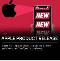Apple, Apple Watch, and Fall: NEW  NEW  TECH  APPLE PRODUCT RELEASE  Sept 12   Apple unveils a series of netw  products and software updates Apple announced new products and software updates today, including a new entry-level iPhone called XR, a larger and improved iPhone X, as well as an updated version of the Apple Watch. ___ Apple's new iPhone Xs has an improved screen display, a higher water resistance level as well as an improved camera. The iPhone Xs comes in two sizes- a 5.8 inch and a 6.5 inch- the larger of the two is called the iPhone Xs Max. The iPhone Xs starts at $999 and the iPhone Xs Max starts at $1099. ___ Apple also released the iPhone XR, which some are deeming the new budget iPhone, starting at $749. The XR is similar to the Xs, with the exception of camera and screen quality and is not offered in glass. ___ The new Apple Watch contains new health features as well as a larger screen. The watch has an improved accelerometer and a gyroscope which can identify a fall and summon for help, as well as an enhanced heart monitoring system. ___ Consumers are calling the phone updates to be modest, however the release of the XR at a lower price may entice more to upgrade.