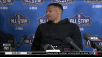 Little kid speaking the truth 😂 Via NBA RussellWestbrook: NEW OR LE AL  @NBA  IBA  Can NBA  (a NBA  ALLSTAR  ALLSTAR  ALI  2017  EANS  NBA  BA  ALL'  NBA ALL-STAR  MEDIA DAY RECAP  3:00 PM ET  ON NBATV  asons with the Heat: winning back-to-back NBA trv  HEADLINES  HEAT Little kid speaking the truth 😂 Via NBA RussellWestbrook