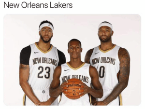 Bandwagoners your new home: LakeShow: New Orleans Lakers  NEW ORLEANS  23  NEW ORLEANS  NEM ORLEANS  PALDING Bandwagoners your new home: LakeShow