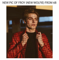 Guys let's follow the new wolfies 😊 @froy & @danieljpinder show them we are here for them as a fandom 💞: NEW PIC OF FROY (NEW WOLFIE FROM 6B Guys let's follow the new wolfies 😊 @froy & @danieljpinder show them we are here for them as a fandom 💞