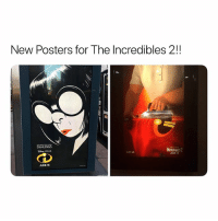Now that's what I call a date: New Posters for The Incredibles 2!!  DAHLINGS  INCREDIBLES2  UNE 15  UIT U  JUNE 15 Now that's what I call a date