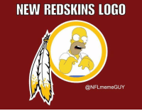 Kirk Cousins, Meme, and Nfl: NEW REDSKINS LOGO  @NFL meme GUY Washington Redskins release new logo after losing Garcon, Jackson, firing their GM and not wanting to pay Kirk Cousins.   Credit - nflmemeguy