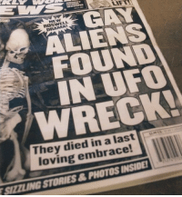 Aliens, Roswell, and Ufo: NEW  ROSWELL  RAMA  GAY  ALIENS  FOUND  IN UFO  WRECK!  They died in a last  loving embrace!  SIZZLING STORIES&PHOTOS INSIDE