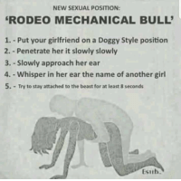 rodeo sex position