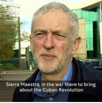 """Jeremy Corbyn calls Fidel Castro """"a huge figure in our lives"""" following the death of the former Cuban leader.    The Labour Party leader says """"economic progress must go hand in hand with improvements in human rights"""".: New  Sierra Maestra, in the war there to bring  about the Cuban Revolution Jeremy Corbyn calls Fidel Castro """"a huge figure in our lives"""" following the death of the former Cuban leader.    The Labour Party leader says """"economic progress must go hand in hand with improvements in human rights""""."""