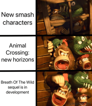 New Smash Characters Animal Crossing New Horizons Breath Of The