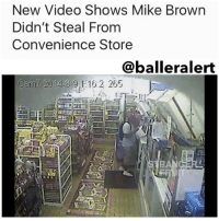 """New Video Shows Mike Brown Didn't Steal From Convenience Store - blogged by: @eleven8 ⠀⠀⠀⠀⠀⠀⠀⠀⠀ ⠀⠀⠀⠀⠀⠀⠀⠀⠀ Two and a half years after the shooting death of MikeBrown at the hands of Ferguson police officer DarrenWilson, it appears new details have surfaced. ⠀⠀⠀⠀⠀⠀⠀⠀⠀ ⠀⠀⠀⠀⠀⠀⠀⠀⠀ In initial reports, 18-year-old Brown was accused of robbing a convenience store and stealing several cigarillos shortly before the fatal shooting by Officer Wilson. The robbery was caught on surveillance, which reportedly showed Brown assaulting the store clerk. Now, a second, previously unreported, video has surfaced, showing Brown entering the store shortly after 1 am on the day of his death, handing over a small bag to the store employees and taking a bag of cigarillos in return. As he walks towards the door, he turns back and hands the cigarillos back across the counter and leaves the store empty handed. ⠀⠀⠀⠀⠀⠀⠀⠀⠀ ⠀⠀⠀⠀⠀⠀⠀⠀⠀ The footage is said to be included in a new documentary by filmmaker, Jason Pollock, titled """" StrangerFruit."""" It will challenge the theory that Brown strong-armed the store clerk and left the store with stolen merchandise. Pollock believes the new video shows Brown giving store employees a small bag of marijuana and receiving cigarillos in return as part of a pre-negotiated deal. He then stashed the cigarillos behind the counter for safe keeping. He later returns to the store to pick up the cigarillos, and that is the start of the surveillance video that was provided during the investigation into his death. ⠀⠀⠀⠀⠀⠀⠀⠀⠀ ⠀⠀⠀⠀⠀⠀⠀⠀⠀ Jay Kanzler, a lawyer for the convenience store and its employees, denies that there was a transaction made, despite the video taken earlier that day. ⠀⠀⠀⠀⠀⠀⠀⠀⠀ ⠀⠀⠀⠀⠀⠀⠀⠀⠀ """"There was no transaction,"""" Mr. Kanzler said. """"There was no understanding. No agreement. Those folks didn't sell him cigarillos for pot. The reason he gave it back is he was walking out the door with unpaid merchandise and they wanted it back."""" ⠀⠀⠀⠀⠀⠀⠀⠀⠀ ⠀⠀⠀⠀⠀⠀⠀⠀⠀ Watch the video"""