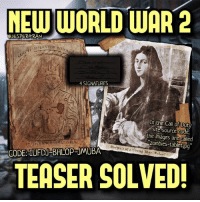 """The code in the teaser site has been solved, the code is: """"IUFDJ-BHLOP-JMUBA"""". The images are called """"Zombies-tablet.jpg"""". 4 signatures have also been found (probably the 4 playable characters in the game)- 👥tag a friend👥 ❤️5000 likes?❤️ follow🤖 ⬆️check out the link in my bio⬆️ 🔔turn on post notifications🔔 CoD BattleField1 BlackOps3 WorldWar2 Treyarch MWR callofduty InfiniteWarfare MWRemastered Sledgehammergames Zombies CallofDutyIW InfinityWard PS4 PlayStation WWII xbox XboxOne BF1 BO3 CoD4 Gamer SHGames ModernWarfare Activision Sledgehammer CODWWII Game Gaming CoDReturns: NEW WORLD WAR 2  GJESPERGRAN  LMPERATOR Row  4 SIGNATURES  In the Call of Duty  Site Source Code,  the called  zombies-tablet Portrait of a Young Mar. Rafael  CODE: UFDU BHLOPRUMUBA  TEASER SOLVED! The code in the teaser site has been solved, the code is: """"IUFDJ-BHLOP-JMUBA"""". The images are called """"Zombies-tablet.jpg"""". 4 signatures have also been found (probably the 4 playable characters in the game)- 👥tag a friend👥 ❤️5000 likes?❤️ follow🤖 ⬆️check out the link in my bio⬆️ 🔔turn on post notifications🔔 CoD BattleField1 BlackOps3 WorldWar2 Treyarch MWR callofduty InfiniteWarfare MWRemastered Sledgehammergames Zombies CallofDutyIW InfinityWard PS4 PlayStation WWII xbox XboxOne BF1 BO3 CoD4 Gamer SHGames ModernWarfare Activision Sledgehammer CODWWII Game Gaming CoDReturns"""
