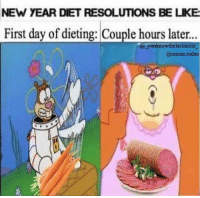 """Dieting, Memes, and Diet: NEW YEAR DIET RESOLUTIONS BE LKE  First day of dieting: Couple hours later.  youknowthelastname  @meme rodeo """"Dieting the BS"""" original captured by YKTLN and @meme.rodeo - Admit it, this is you 😂 ⚫️⚫️⚫️⚫️⚫️⚫️⚫️⚫️⚫️⚫️⚫️⚫️⚫️⚫️⚫️⚫️ Comment any suggestions 🔵🔵🔵🔵🔵🔵🔵🔵🔵🔵🔵🔵🔵🔵🔵🔵 Tag your friends!🔴🔴🔴🔴🔴🔴🔴🔴🔴🔴🔴🔴🔴🔴🔴🔴 spongebob igers photooftheday l4l art follow4follow like4like follow modern new picture capture instagram youknowthelastname i a love instagood year followme sandy tagforlikes like picoftheday laugh dead diet memes cringe fff"""