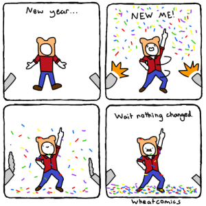 New Year New Me [OC]: New Year New Me [OC]