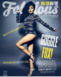 Amazon, Definitely, and Memes: NEW YEARNENIOUl  FREE IN THE SUN ON SUNDAY JANUARY 1, 2017  FABULOUSMAG.CO.UK  FASHIONFAILS  YOUR FIX TO HOW MYSTIC MEGTS 2017 LOVE & SEX STARS  SHES DROPPED FIVE DRESS  SIZES AND ST IN JUST SIX  MONTHS NOW JUNGLE QUEEN  M SCARLETT MOFFATT SHOWS  YOU HOW TO DO IT TOO  exclusively  for Fabulous by  Mark Hayman New year, new me @fabulousmag cover 💪🏽 iyour New Years resolution is to make 2017 a SUPER one let me help you read all about my new DVD in fab magazine. If I can lose over 3 stone & get fit & healthy YOU definitely can. 💪🏽 Scarlett's SUPER slim DVD is out now (Amazon link in bio) newyear weightloss fitness motivation