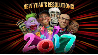 Bubba, Dank, and New Year's Resolutions: NEW YEAR'S RESOUUTIONS!  MENA Walter, Peanut, Achmed the Dead Terrorist, José, Sweet Daddy Dee and Bubba J have made their New Year's Resolutions for 2017. After hearing their plans, I'm not so sure this was such a good idea. Did you make any resolutions for the new year?  Be sure to check out all of our weekly YouTube videos and subscribe to see them first!  http://bit.ly/JeffDunham_EssentialPlaylistF