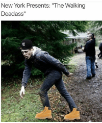 """Memes, 🤖, and Thewalkingdead: New York Presents: """"The Walking  Deadass ill be spamming walking dead memes for a while, deadass • • dankmemes dank thewalkingdead negan thewalkingdeadass"""