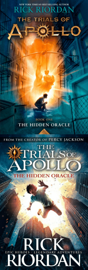 thebloggersbookshop:  So the US and UK covers for 'The Hidden Oracle' - Book 1 in The Trials of Apollo series by Rick Riordan has been released and oh my goodness it's definitely one of my favourite covers of all of Rick's books!What do you think of it?Are you excited for The Hidden Oracle and to return to the world of the Greek Gods and Demigods?: NEW YORK TIMES #1 BEST-SELLIING AUTHOR  RICK RIORDAN  THE TRIALS OF  APOLLO  BOOK ONE  THE HIDDEN ORACLE   FROM THE CREATOR OF PERCY JACKSON  THE  OTRIALSOF  APOLLO  THE HIDDEN ORACLE  RICK  RIORDAN  EPIC HEROES LEGENDARY ADVENTURES thebloggersbookshop:  So the US and UK covers for 'The Hidden Oracle' - Book 1 in The Trials of Apollo series by Rick Riordan has been released and oh my goodness it's definitely one of my favourite covers of all of Rick's books!What do you think of it?Are you excited for The Hidden Oracle and to return to the world of the Greek Gods and Demigods?