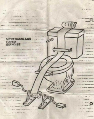 What do you guys think about this: NEWFOUNDLAND  PAPER  RECYCLER What do you guys think about this