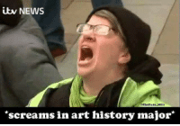 ~AmericaWest: NEWS  3TheDuke MH3  screams in art history major ~AmericaWest