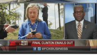 Memes, Email, and 🤖: NEWS  ALERT  FINAL CLINTON EMAILS OUT  @FOXBUSINESS
