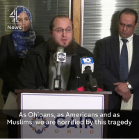 """""""We stand here as Muslims to say, this has nothing to do with our faith.""""   Muslims strongly condemn the attack at Ohio State University by a Somali-American student, that left 11 people injured.: News  As Ohioans, as Americans and as  Muslims, we are horrified by this tragedy  O H I O """"We stand here as Muslims to say, this has nothing to do with our faith.""""   Muslims strongly condemn the attack at Ohio State University by a Somali-American student, that left 11 people injured."""