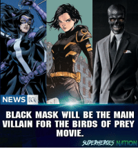 What do y'all think? I freaking love Black mask and I think he deserve to shine on the big screen. Blackpanther Mcu Marvel dc dccomics dceu dcu dcrebirth dcnation dcextendeduniverse batman superman manofsteel thedarkknight wonderwoman justiceleague cyborg aquaman martianmanhunter greenlantern venom spiderman infinitywar avengers avengersinfintywar ironman thano: NEWS  BLACK MASK WILL BE THE MAIN  VILLAIN FOR THE BIRDS OF PREY  MOVIE  SUPERHEROES NATION What do y'all think? I freaking love Black mask and I think he deserve to shine on the big screen. Blackpanther Mcu Marvel dc dccomics dceu dcu dcrebirth dcnation dcextendeduniverse batman superman manofsteel thedarkknight wonderwoman justiceleague cyborg aquaman martianmanhunter greenlantern venom spiderman infinitywar avengers avengersinfintywar ironman thano
