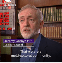 """""""Drinking tea together is rather better than building walls to separate each other.""""  Today is national Visit My Mosque day and Labour leader Jeremy Corbyn says his local mosque are """"keen to welcome"""" controversial US President Donald J. Trump.: News  GEN 010S  EG  Jeremy Corbyn MP  Labour Leader  That we are a  multi-cultural community. """"Drinking tea together is rather better than building walls to separate each other.""""  Today is national Visit My Mosque day and Labour leader Jeremy Corbyn says his local mosque are """"keen to welcome"""" controversial US President Donald J. Trump."""