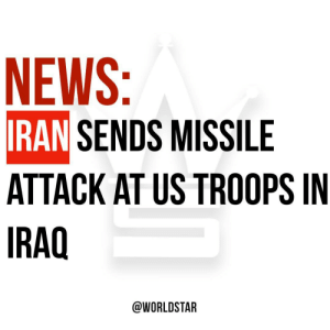According to reports, #Iran has launched more than a dozen ballistic missiles on two Iraqi military bases which house US troops. Casualties have been reported. Thoughts? 😳😩🙏 @CNN https://t.co/qZMuIP5msh: NEWS:  IRAN SENDS MISSILE  ATTACK AT US TROOPS IN  IRAQ  @WORLDSTAR According to reports, #Iran has launched more than a dozen ballistic missiles on two Iraqi military bases which house US troops. Casualties have been reported. Thoughts? 😳😩🙏 @CNN https://t.co/qZMuIP5msh