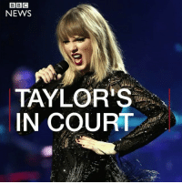 Memes, News, and Radio: NEWS  TAYLOR'S  IN COURT Taylor Swift's fans are lining up around the block to get to see her... in court. The singer appeared for her case against Colorado radio DJ David Mueller. She's accused him of groping her. taylorswift tswift swiftie swifties theswiftietag bbcnews @bbcnews