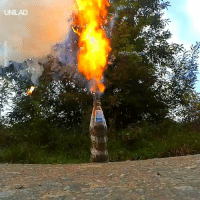 Dank, Cool, and Match: NEwSFLARE Setting alight hundreds of match tips in a glass bottle sparks a really cool reaction 😮🔥