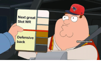 Life, Nfl, and True: Next great  Slot WR  Defensive  back  @GhettoGronk I've never seen something more true in my life