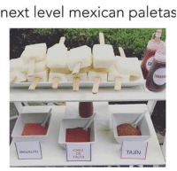 Oh snap! 😩: next level mexican paletas  CHILE  TAJIN  MIGUEL TO  FRUTA Oh snap! 😩
