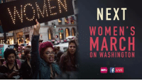 Memes, Tuneful, and 🤖: NEXT  WOMEN'S  MARCH  ON WASHINGTON  BETH f LIVE The Women's March is officially on. Crowds are yuuuuge!   Stay tuned for Live act.tv coverage from the ground.