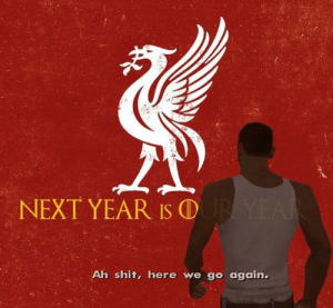 Memes, Shit, and 🤖: NEXT YEAR IS ⓛ  Ah shit, here we go again. Exactly https://t.co/y7AGWsXRgn