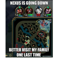 Fail, Gg, and Lol: NEXUS IS GOING DOWN  14  16  ONE LAST TIME  THIS ISPLATINUMEIO LMFAOO leagueoflegends leagueoflegendsmemes elohell riot twistedtreeline oneforall pentakill surrender summonersrift dominion fail gg gaming howlingabyss lol classic champions crystalscar noob memes ✌️-R