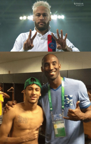 Neymar has just dedicated his goal to Kobe Bryant 🙏🏽 https://t.co/zU9d551kCP: Neymar has just dedicated his goal to Kobe Bryant 🙏🏽 https://t.co/zU9d551kCP
