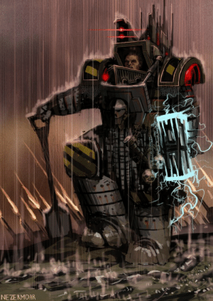 "ask-perturabo:  ""We are the Iron Warriors, we do our duty, no matter how grim and inglorious. We are the Iron Warriors and we do what must be done.""  (By:https://nezermoar.deviantart.com): NEZERMOAR ask-perturabo:  ""We are the Iron Warriors, we do our duty, no matter how grim and inglorious. We are the Iron Warriors and we do what must be done.""  (By:https://nezermoar.deviantart.com)"