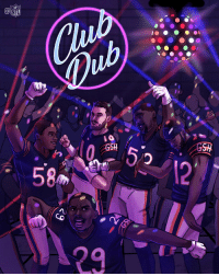 Memes, Nfl, and 🤖: NFL  58  12 The @ChicagoBears are in #ClubDub tonight! #DaBears https://t.co/iRHuRtGuo5